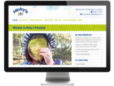 Screenshot of Nickys PreSchool in Harrogate Responsive Website developed by Sourmash Internet