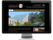 Screenshot of Templar Roofing Wakefield Wordpress Website developed by Sourmash Internet